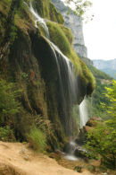 07-2411 Cascade de Gournier Below the Grotte de Choranche, Vercors Natural Park France